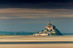 La baie du mont Saint-Michel est classe au patrimoine mondial de l'Unesco. (c Le Rouge Marc)